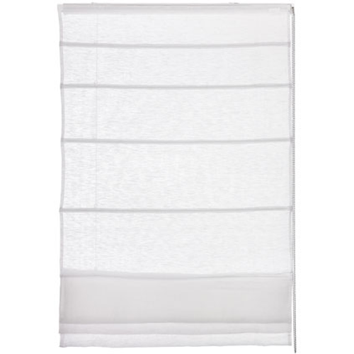 Store bateau Madeco 'Lineo' tamisant blanc 80 x 220 cm