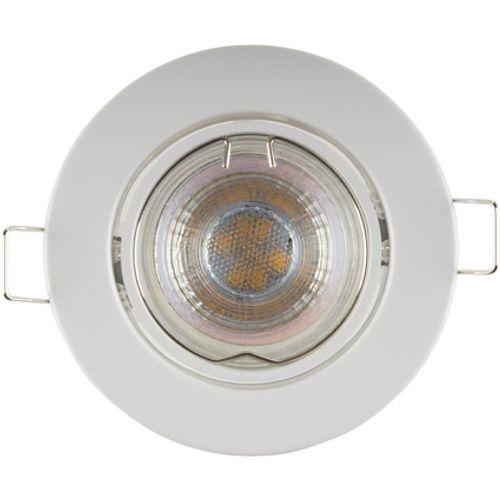 Sencys inbouwspot LED GU10 richtbaar 345 lum 1x5W 36° dimbaar rond wit