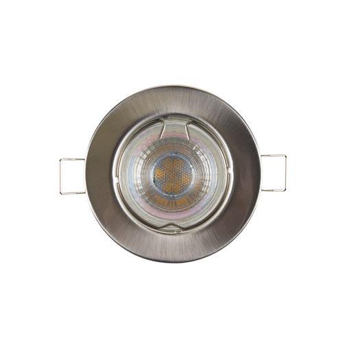 Sencys inbouwspot LED GU10 richtbaar 230 lum 1x4W 36° rond staal