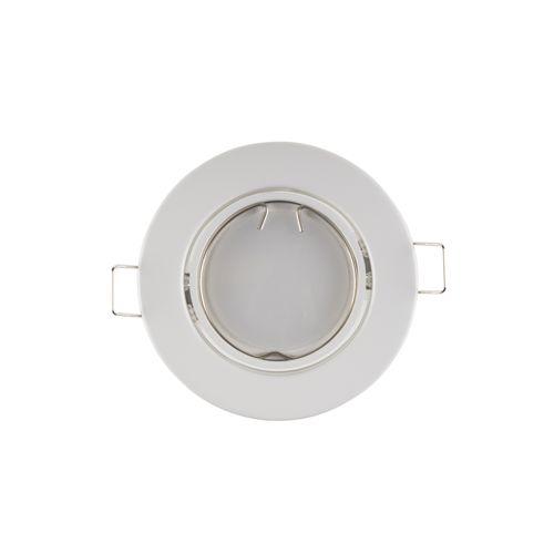 Sencys inbouwspot LED GU10 vast 345 lum 1x5W 110° rond wit