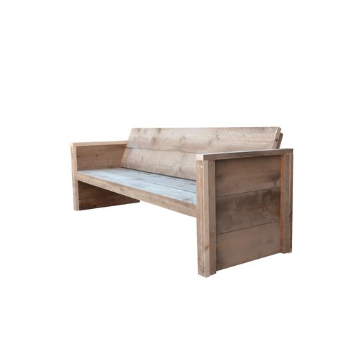Wood4You tuinbank Vlieland bouwpakket steigerhout 180cm