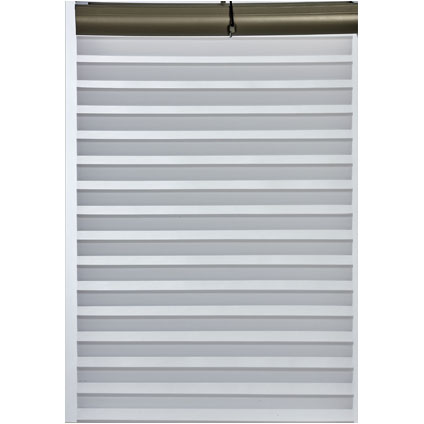 Store enrouleur tamisant Madeco 'Roll Jalousy Must' blanc 60 x 250 cm