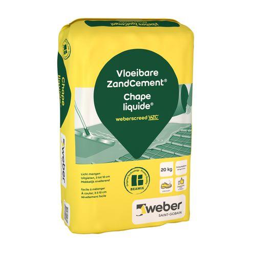Weber vloeibare zandcement 20kg