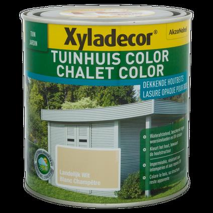 Xyladecor houtbeits 'Color' landelijk wit 1L