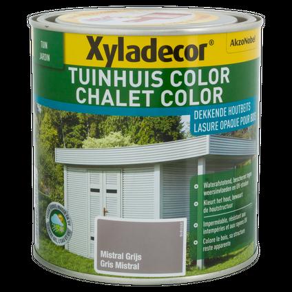 Xyladecor houtbeits 'Color' nevelgrijs 1L