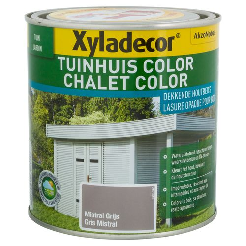 Xyladecor houtbeits 'Color' nevelgrijs 1L