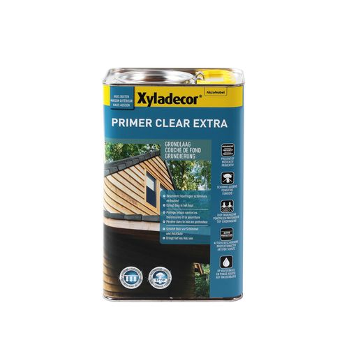 Xyladecor houtbescherming 'Primer Clear Extra' mat 2,5L