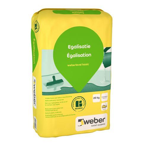 Weber egalisatie 20kg
