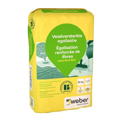 Weber vezelversterkte egalisatie 20kg