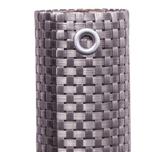 Videx balkondoek kunststof platinum 90x300cm