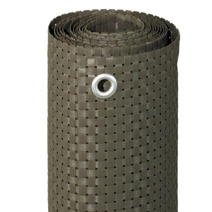 Videx balkondoek kunststof grijs 90x300cm