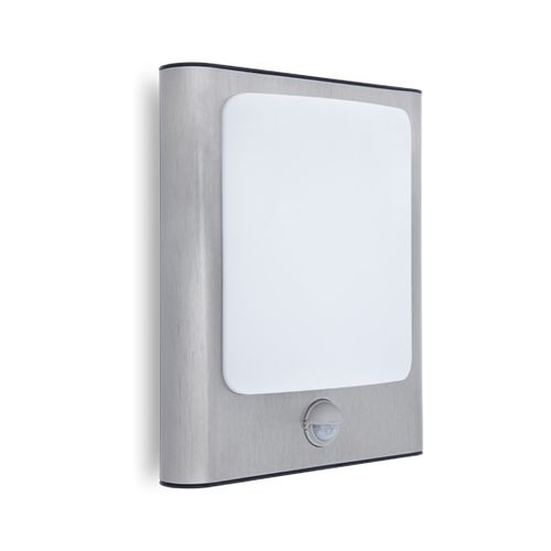 Lutec wandlamp Face roestvrij staal 13W