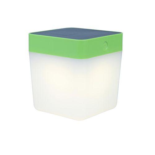Lutec tafellamp solar Cube groen 1W