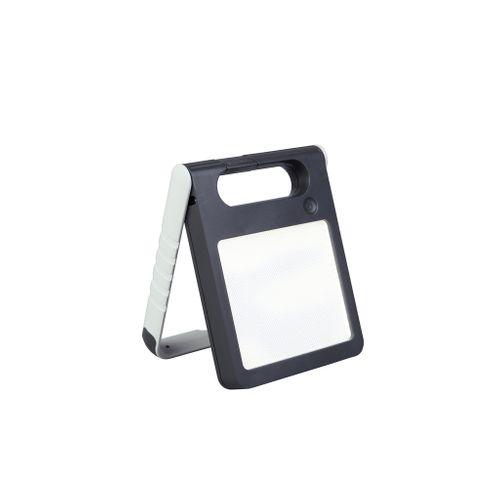 Lutec solar tafellamp Padlight wit 2W