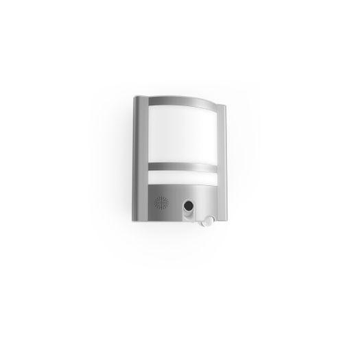 Applique extérieure avec détecteur de mouvement Lutec 'Vesta' gris 30W