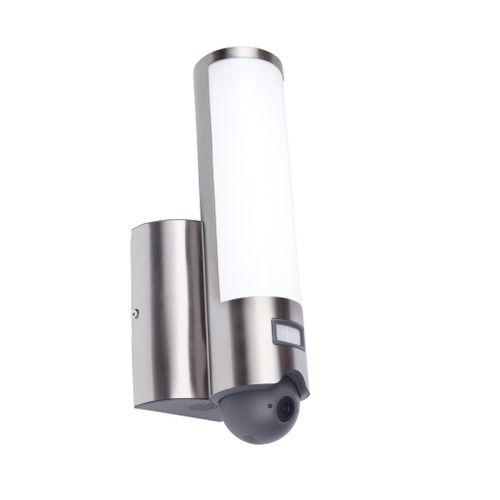 Lutec wandlamp Elara roestvrij staal 18W