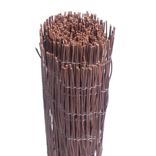 Videx tuinscherm Husum wilgen 150x300cm bruin
