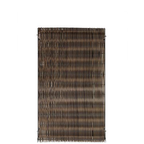 Brise-vue Videx Malmö plastique brun 90x150cm
