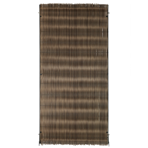 Videx tuinscherm Malmoe kunststof 90x180cm bruin