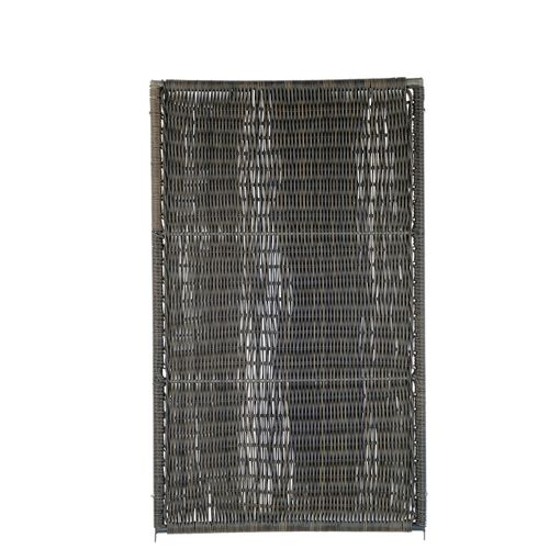 Brise-vue Videx Öland plastique brun 90x150cm
