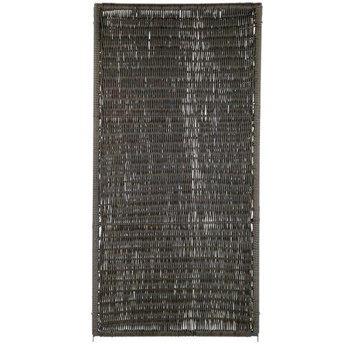 Videx tuinscherm Oeland kunststof 90x180cm bruin