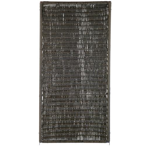 Brise-vue Videx Öland plastique brun 90x180cm