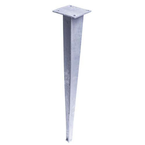 Videx paalhouder met punt voor Malmoe/Oeland 67cm metaal
