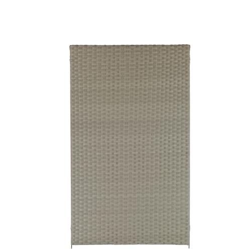 Brise-vue Videx Stockholm plastique beige 90x150cm