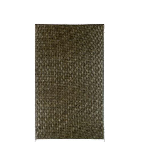 Brise-vue Videx Stockholm plastique brun 90x150cm
