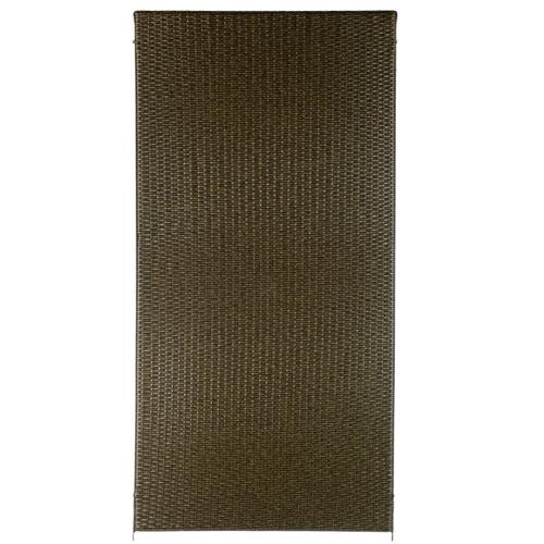 Brise-vue Videx Stockholm plastique brun 90x180cm