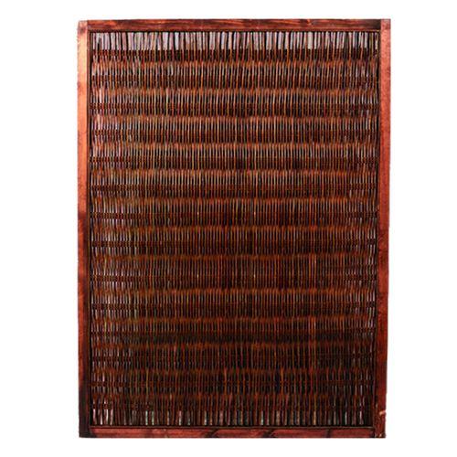 Videx tuinscherm Cornwall wilgen 120x180cm bruin