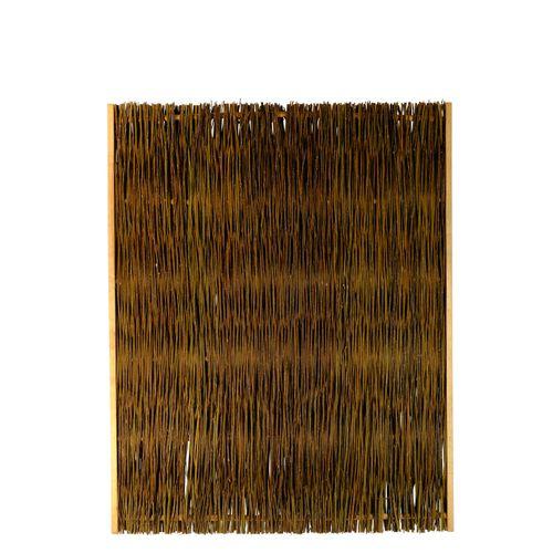 Videx tuinscherm Jutland wilgen 120x150cm bruin