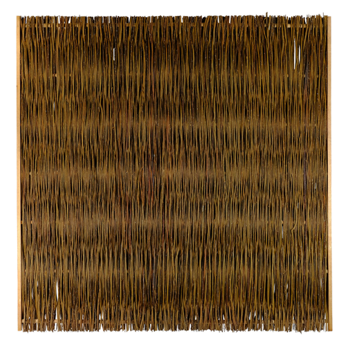Videx tuinscherm Jutland wilgen 180x180cm bruin