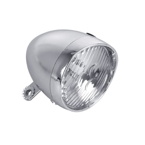 Dresco koplamp klassiek chroom LED