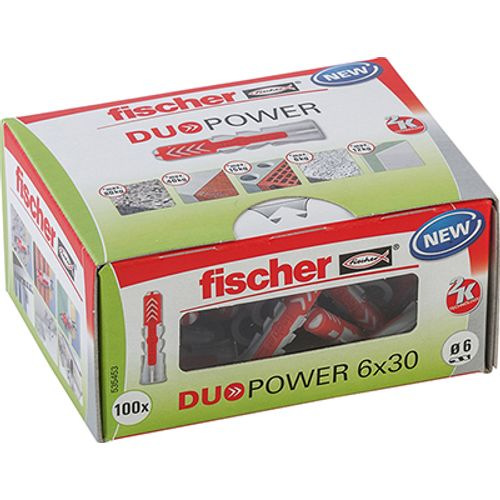 Cheville universelle Fischer 'Duopower' 30 x 6 mm - 100 pcs
