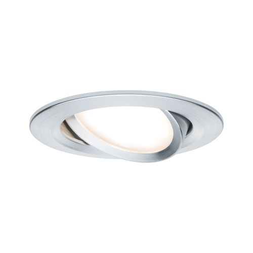 Paulmann inbouwspot LED Coin Slim kantelbaar aluminium 6,8W
