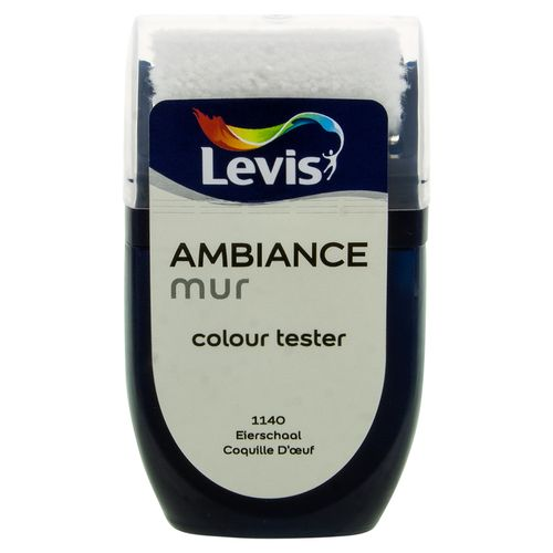 Peinture Levis 'Ambiance' coquille d'oeuf mat 30ml