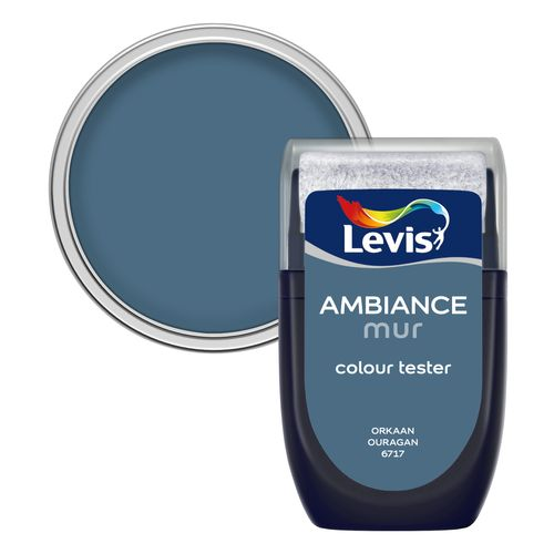 Levis muurverf 'Ambiance' orkaan mat 30ml