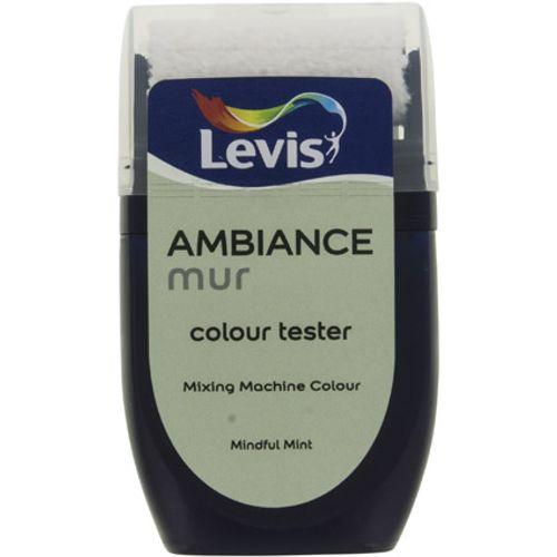 Levis muurverf 'Ambiance Extra Mat' mindful mint mat 30ml