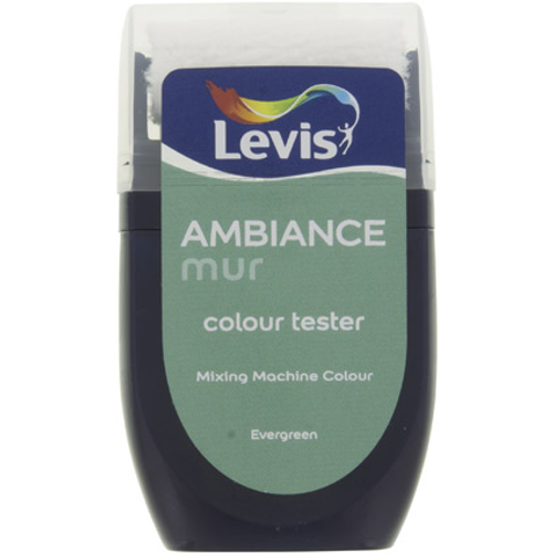 Levis muurverf 'Ambiance Extra Mat' evergreen mat 30ml