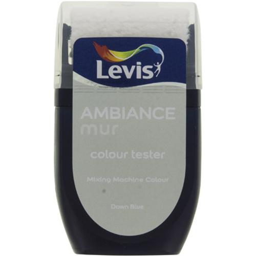 Levis muurverf 'Ambiance Extra Mat' dawn blue mat 30ml