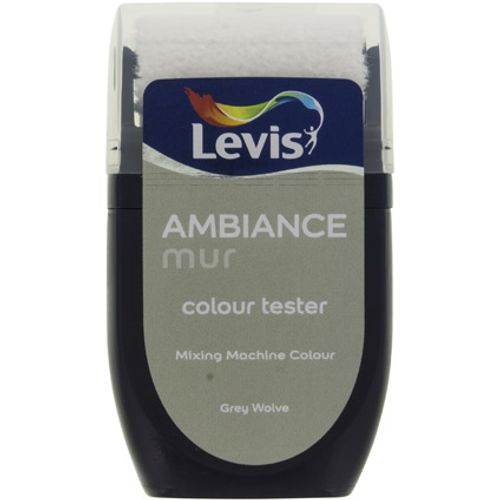 Levis muurverf 'Ambiance Extra Mat' grey wolve mat 30ml