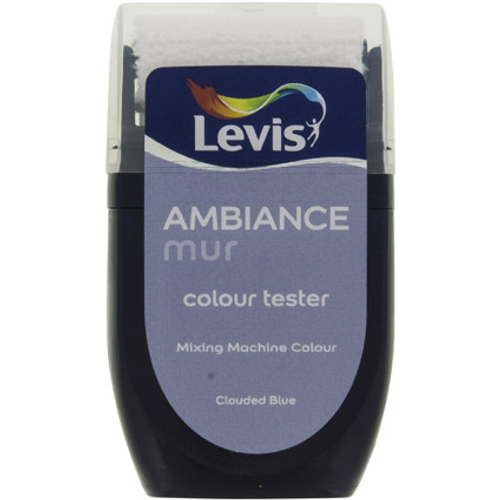 Levis muurverf 'Ambiance Extra Mat' clouded blue mat 30ml