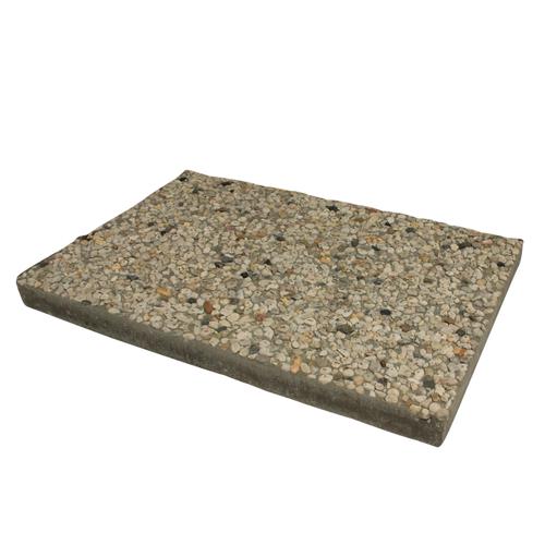 Decor berggrindtegel grijs gemeleerd beton 60x40x4,8cm