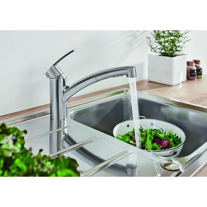 Grohe keukenmengkraan Start met uittrekbare handdouche chroom
