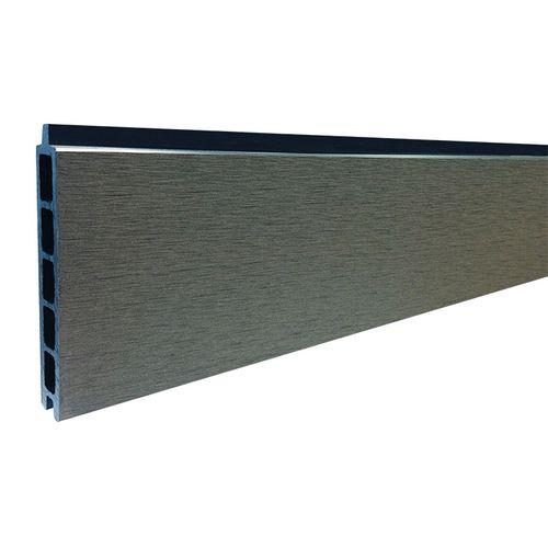 Planches Elephant Modular Mix&Match composite WPC gris 180x14x2cm 2pcs