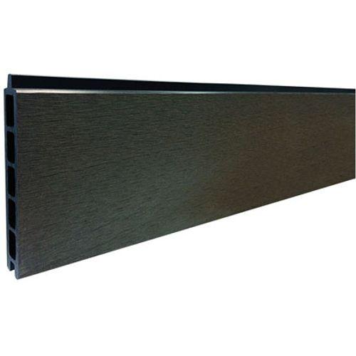 Elephant plank antraciet composiet 180 x 14 cm – 2 stuks