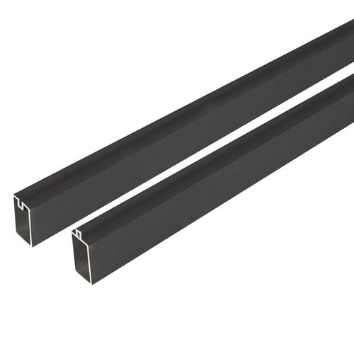 Profilé de finition Elephant aluminium 180 x 2,5 x 2 cm – 2 pcs