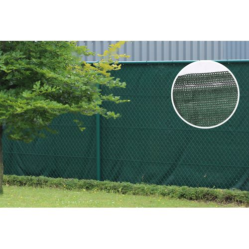 Filet brise-vue Giardino Ombra vert 1,5x10m