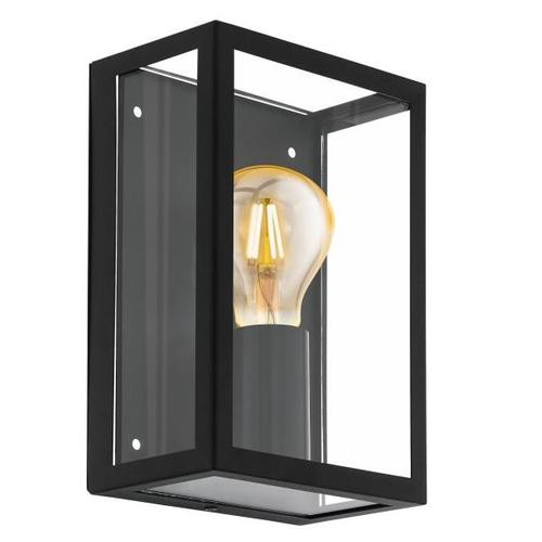 Eglo wandlamp Alamonte 1 zwart 60W